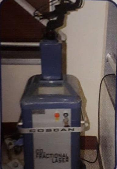 co scan Fractional Laser